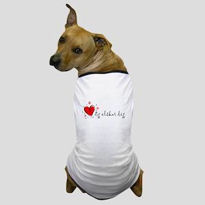 """""""I Love You"""" [Danish] Dog T-Shirt"""